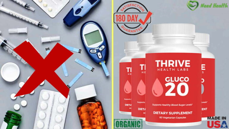 GLUCO20 Diabetes Reviews- Is Thrive Health Labs Blood Sugar Real?