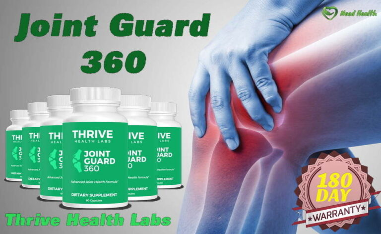 Joint Guard 360 Reviews -Is Supplement By Thrive Health Labs Worth?